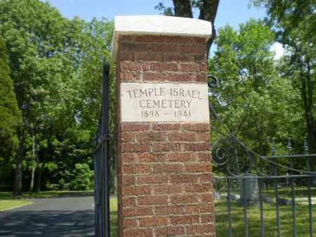 *TEMPLE ISRAEL, CEMETERY - Craighead County, Arkansas   CEMETERY *TEMPLE ISRAEL - Arkansas Gravestone Photos