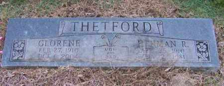THETFORD, GLORENE - Craighead County, Arkansas | GLORENE THETFORD - Arkansas Gravestone Photos