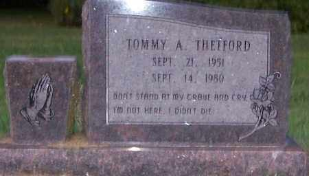 THETFORD, TOMMY A. - Craighead County, Arkansas   TOMMY A. THETFORD - Arkansas Gravestone Photos