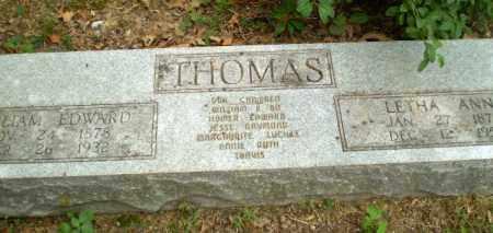 THOMAS, WILLIAM EDWARD - Craighead County, Arkansas | WILLIAM EDWARD THOMAS - Arkansas Gravestone Photos