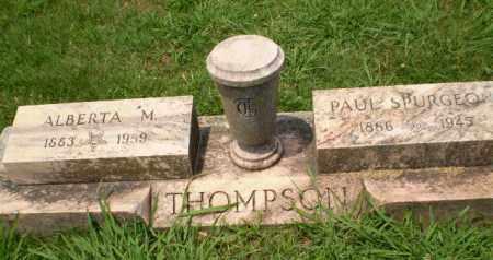 THOMPSON, ALBERTA M - Craighead County, Arkansas | ALBERTA M THOMPSON - Arkansas Gravestone Photos