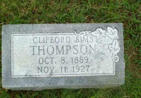 THOMPSON, CLIFFORD SIMS - Craighead County, Arkansas | CLIFFORD SIMS THOMPSON - Arkansas Gravestone Photos