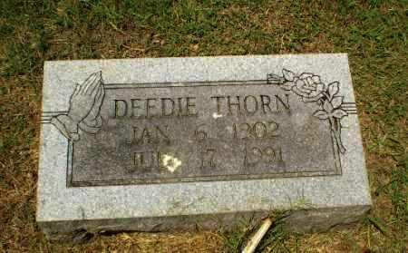 THORN, DEEDIE - Craighead County, Arkansas | DEEDIE THORN - Arkansas Gravestone Photos