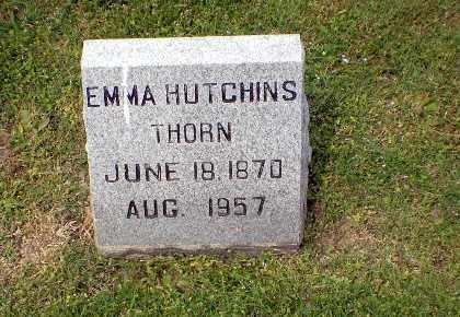 HUTCHINS THORN, EMMA - Craighead County, Arkansas | EMMA HUTCHINS THORN - Arkansas Gravestone Photos