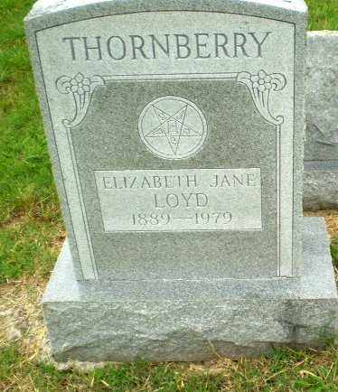 LOYD THORNBERRY, ELIZABETH JANE - Craighead County, Arkansas | ELIZABETH JANE LOYD THORNBERRY - Arkansas Gravestone Photos