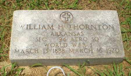 THORNTON  (VETERAN WWI), WILLIAM  H - Craighead County, Arkansas | WILLIAM  H THORNTON  (VETERAN WWI) - Arkansas Gravestone Photos