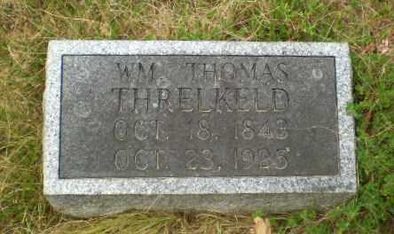 THRELKELD, WM. THOMAS - Craighead County, Arkansas | WM. THOMAS THRELKELD - Arkansas Gravestone Photos