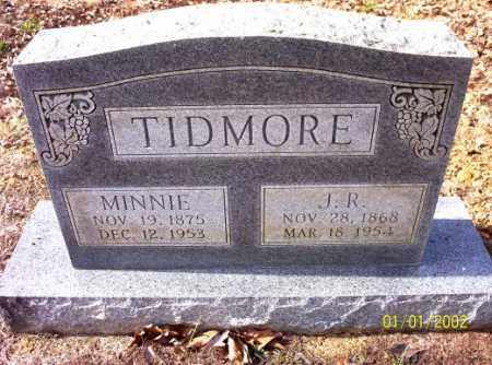 TIDMORE, MINNIE - Craighead County, Arkansas | MINNIE TIDMORE - Arkansas Gravestone Photos