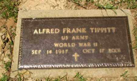 TIPPITT  (VETERAN WWII), ALFRED FRANK - Craighead County, Arkansas   ALFRED FRANK TIPPITT  (VETERAN WWII) - Arkansas Gravestone Photos