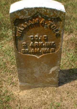 TOLE  (VETERAN SAW), WILLIAM A. - Craighead County, Arkansas   WILLIAM A. TOLE  (VETERAN SAW) - Arkansas Gravestone Photos