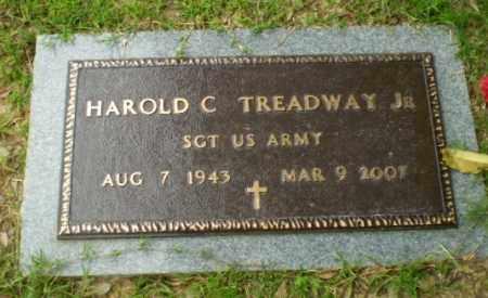 TREADWAY, JR (VETERAN), HAROLD C - Craighead County, Arkansas | HAROLD C TREADWAY, JR (VETERAN) - Arkansas Gravestone Photos