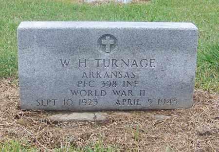 TURNAGE  (VETERAN WWII), W.H. - Craighead County, Arkansas | W.H. TURNAGE  (VETERAN WWII) - Arkansas Gravestone Photos