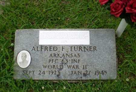 TURNER  (VETERAN WWII), ALFRED F - Craighead County, Arkansas   ALFRED F TURNER  (VETERAN WWII) - Arkansas Gravestone Photos