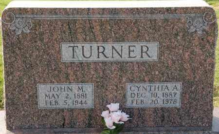 TURNER, CYNTHIA A - Craighead County, Arkansas | CYNTHIA A TURNER - Arkansas Gravestone Photos