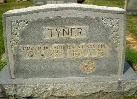 CUPP TYNER, SARAH ANN - Craighead County, Arkansas | SARAH ANN CUPP TYNER - Arkansas Gravestone Photos