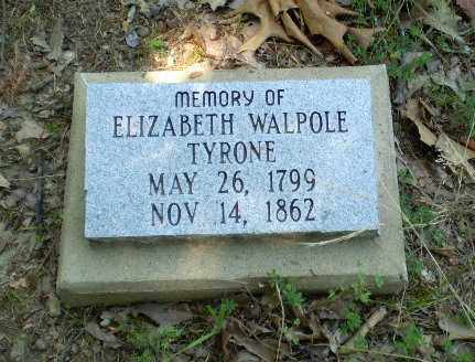 TYRONE, ELIZABETH - Craighead County, Arkansas | ELIZABETH TYRONE - Arkansas Gravestone Photos