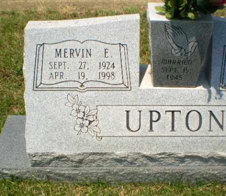 UPTON, MERVIN E - Craighead County, Arkansas | MERVIN E UPTON - Arkansas Gravestone Photos