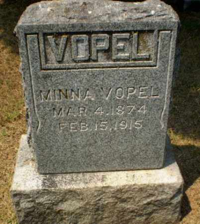 VOPEL, MINNA - Craighead County, Arkansas | MINNA VOPEL - Arkansas Gravestone Photos
