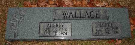WALLACE, AUBREY - Craighead County, Arkansas | AUBREY WALLACE - Arkansas Gravestone Photos