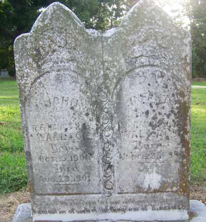 WALLACE, JOHN - Craighead County, Arkansas   JOHN WALLACE - Arkansas Gravestone Photos