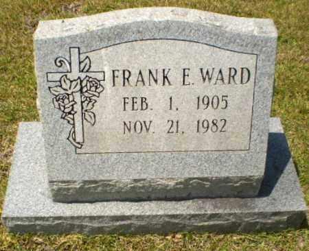 WARD, FRANK E - Craighead County, Arkansas | FRANK E WARD - Arkansas Gravestone Photos