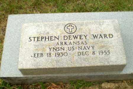 WARD (VETERAN), STEPHEN DEWEY - Craighead County, Arkansas   STEPHEN DEWEY WARD (VETERAN) - Arkansas Gravestone Photos