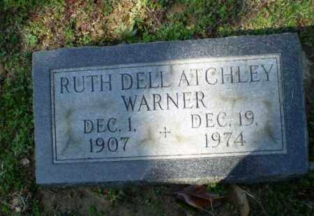 ATCHLEY WARNER, RUTH DELL - Craighead County, Arkansas | RUTH DELL ATCHLEY WARNER - Arkansas Gravestone Photos