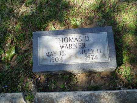 WARNER, THOMAS D - Craighead County, Arkansas | THOMAS D WARNER - Arkansas Gravestone Photos
