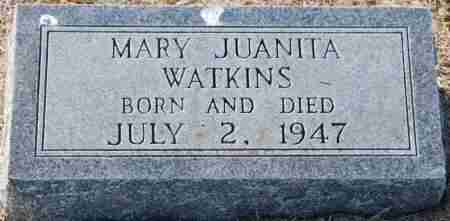 WATKINS, MARY JUANITA - Craighead County, Arkansas | MARY JUANITA WATKINS - Arkansas Gravestone Photos
