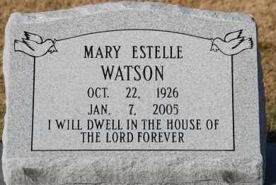WATSON, MARY ESTELLE - Craighead County, Arkansas | MARY ESTELLE WATSON - Arkansas Gravestone Photos