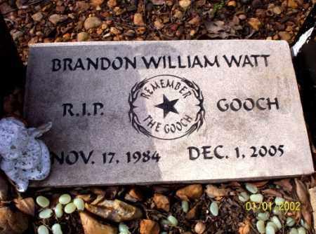 WATT, BRANDON  WILLIAM - Craighead County, Arkansas | BRANDON  WILLIAM WATT - Arkansas Gravestone Photos