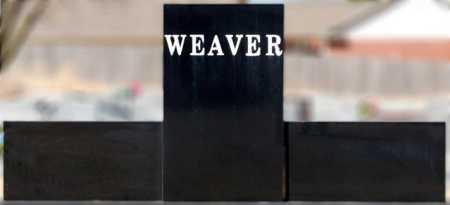 WEAVER, FAMILY GRAVESTONE - Craighead County, Arkansas | FAMILY GRAVESTONE WEAVER - Arkansas Gravestone Photos
