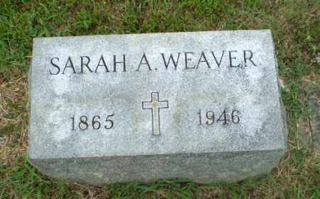 WEAVER, SARAH A. - Craighead County, Arkansas | SARAH A. WEAVER - Arkansas Gravestone Photos