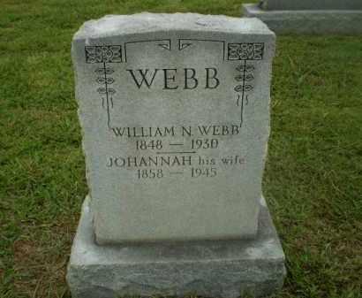 WEBB, JOHANNAH - Craighead County, Arkansas   JOHANNAH WEBB - Arkansas Gravestone Photos
