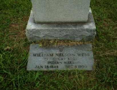 WEBB (VETERAN IW), WILLIAM NELSON - Craighead County, Arkansas   WILLIAM NELSON WEBB (VETERAN IW) - Arkansas Gravestone Photos