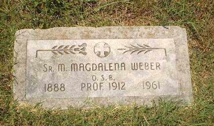 WEBER, SISTER M.MAGDALENA - Craighead County, Arkansas | SISTER M.MAGDALENA WEBER - Arkansas Gravestone Photos