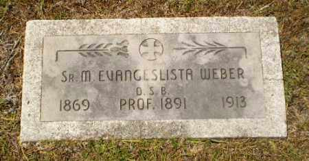WEBER, SISTER M. EVANGELISTA - Craighead County, Arkansas | SISTER M. EVANGELISTA WEBER - Arkansas Gravestone Photos