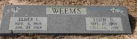 WEEMS, EDITH D. - Craighead County, Arkansas | EDITH D. WEEMS - Arkansas Gravestone Photos