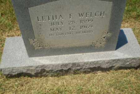 WELCH, LETHA F - Craighead County, Arkansas | LETHA F WELCH - Arkansas Gravestone Photos