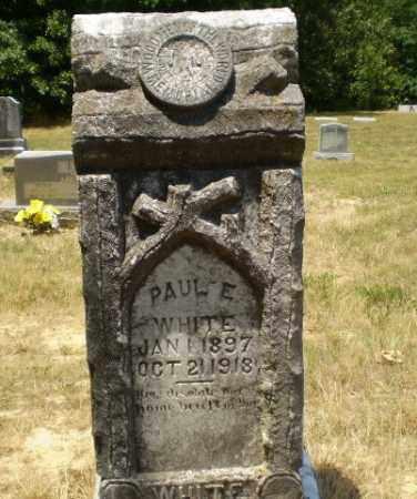 WHITE, PAUL E - Craighead County, Arkansas | PAUL E WHITE - Arkansas Gravestone Photos