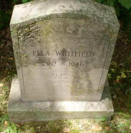 WHITFIELD, ELLA - Craighead County, Arkansas | ELLA WHITFIELD - Arkansas Gravestone Photos