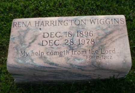 HARRINGTON WIGGINS, RENA - Craighead County, Arkansas | RENA HARRINGTON WIGGINS - Arkansas Gravestone Photos