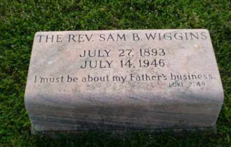 WIGGINS, SAM B - Craighead County, Arkansas | SAM B WIGGINS - Arkansas Gravestone Photos