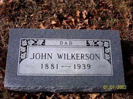 WILKERSON, JOHN - Craighead County, Arkansas | JOHN WILKERSON - Arkansas Gravestone Photos