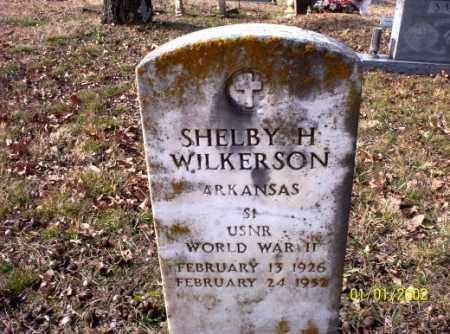 WILKERSON (VETERAN WWII), SHELBY  H. - Craighead County, Arkansas | SHELBY  H. WILKERSON (VETERAN WWII) - Arkansas Gravestone Photos