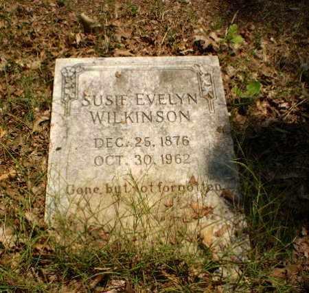 WILKINSON, SUSIE EVELYN - Craighead County, Arkansas | SUSIE EVELYN WILKINSON - Arkansas Gravestone Photos