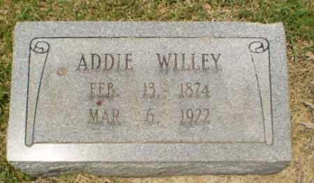 WILLEY, ADDIE - Craighead County, Arkansas   ADDIE WILLEY - Arkansas Gravestone Photos