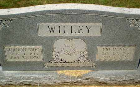 "WILLEY, BURNON ""DOC"" - Craighead County, Arkansas | BURNON ""DOC"" WILLEY - Arkansas Gravestone Photos"