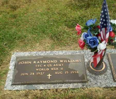 WILLIAMS  (VETERAN WWII), JOHN RAYMOND - Craighead County, Arkansas   JOHN RAYMOND WILLIAMS  (VETERAN WWII) - Arkansas Gravestone Photos
