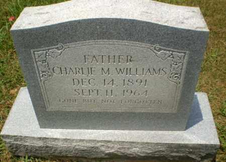 WILLIAMS, CHARLIE M - Craighead County, Arkansas | CHARLIE M WILLIAMS - Arkansas Gravestone Photos